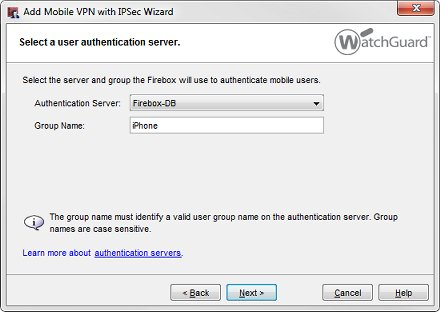 Use the Mac OS X or iOS Native IPSec VPN Client