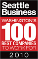WatchGuard voted one of the top 100 best places to work for in Washington State for 2010.