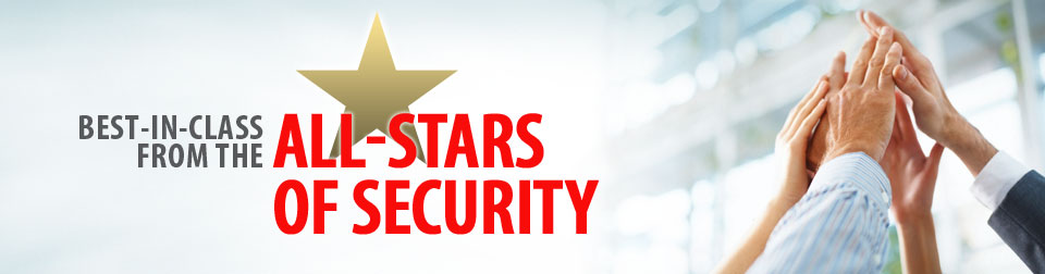 Best-in-class from the all-stars of security