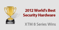 WatchGuard XTM 8 Series Named 2012 World's Best Security Hardware