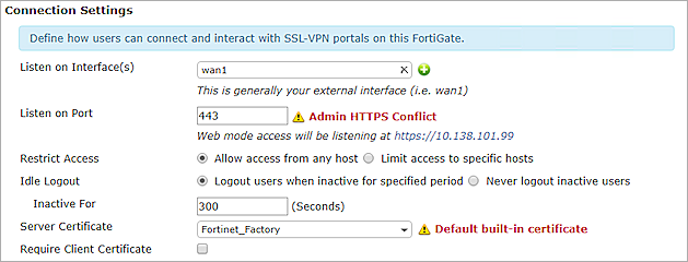 Fortinet Firewall Integration with AuthPoint