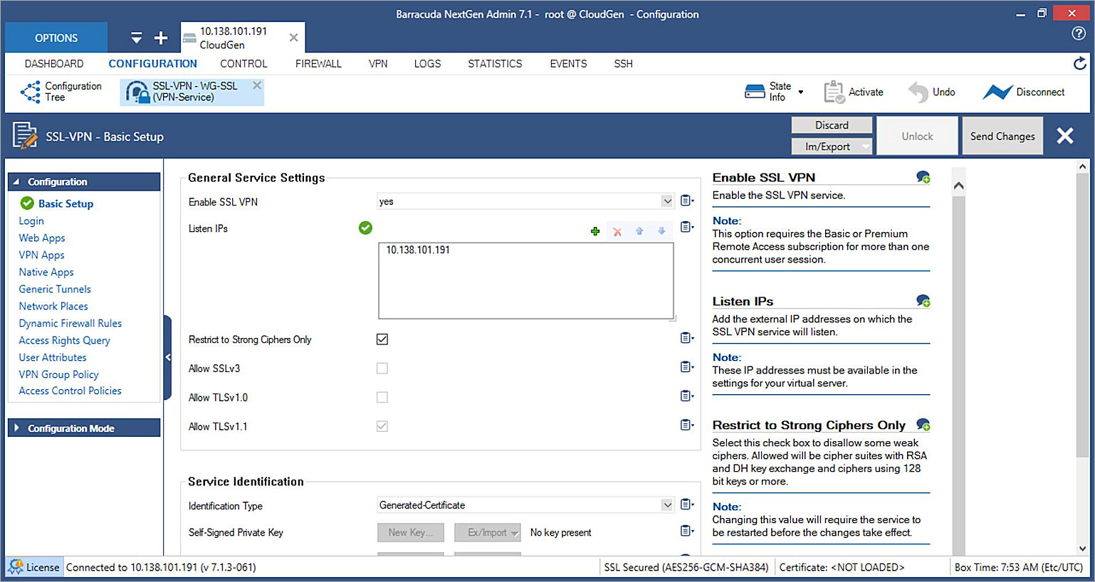 Barracuda CloudGen Firewall Integration with AuthPoint