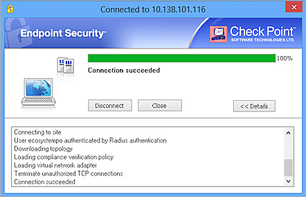 Check Point Appliance Integration with AuthPoint