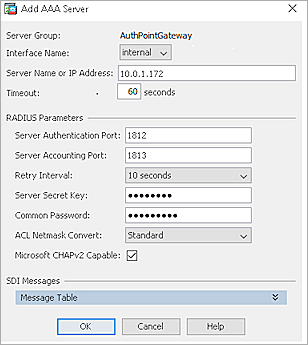 Cisco ASA Integration with AuthPoint