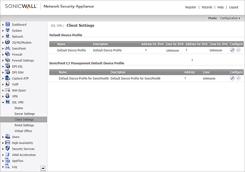 SonicWall Network Security Appliance Integration with AuthPoint