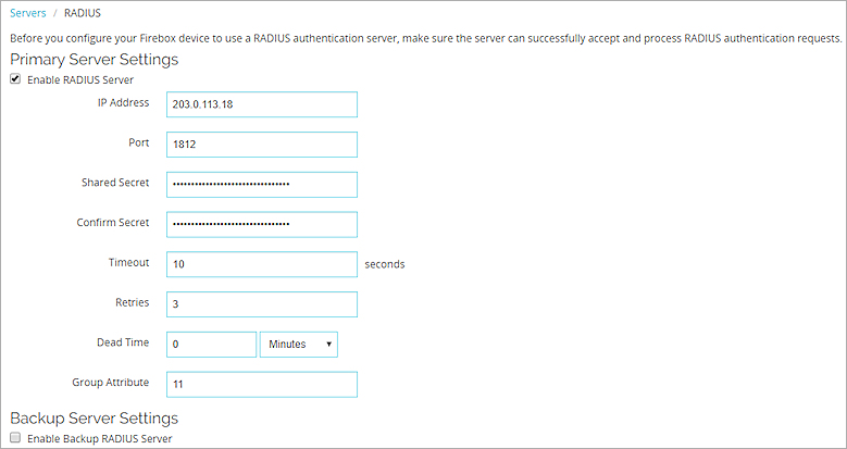 CensorNet MFA SMS PASSCODE with Firebox Integration Guide