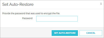 Automatically Restore a Backup Image from a USB Drive