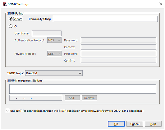 Enable SNMP Polling