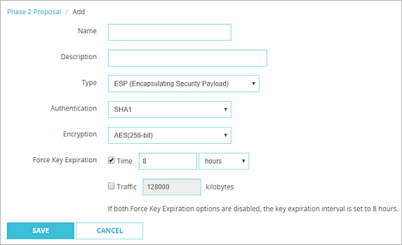 2. Configuring the FortiGate using the IPsec VPN Wizard
