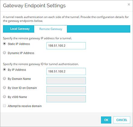 Configure VPN Failover