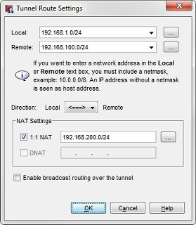 Configure 1-to-1 NAT Through a Branch Office VPN Tunnel