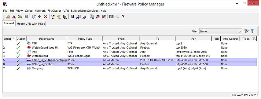 Configure Inbound IPSec Pass-through with SNAT