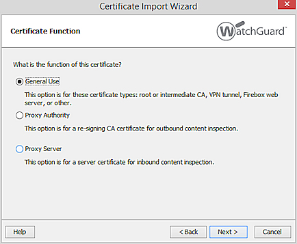 Manage Device Certificates (WSM)