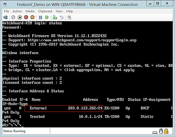 Deploy FireboxV or XTMv on Hyper-V