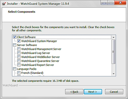 watchguard system manager 10.1