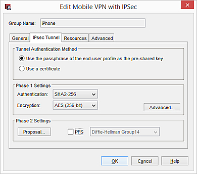 Use the macOS or iOS Native IPSec VPN Client