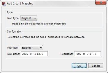 NAT Loopback and 1-to-1 NAT