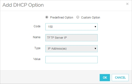 Configure an IPv4 DHCP Server