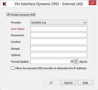 Configure Dynamic DNS