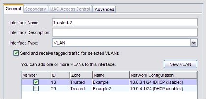 Assign Interfaces to a VLAN