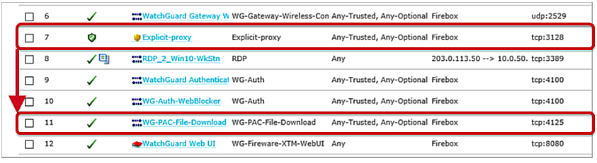 Explicit Proxy: HTTP Web Proxy