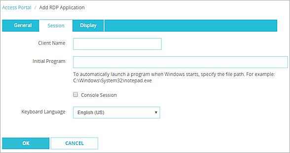 Configure the Access Portal