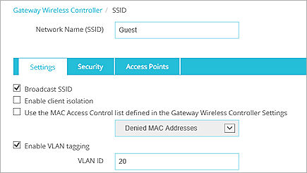 AP Deployment with VLANs and Guest Network