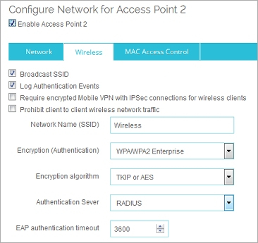 Use a RADIUS Server for Wireless Authentication