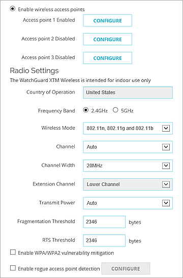 Add a Firebox as a Trusted Access Point