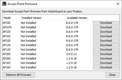 Update AP Firmware on the Gateway Wireless Controller