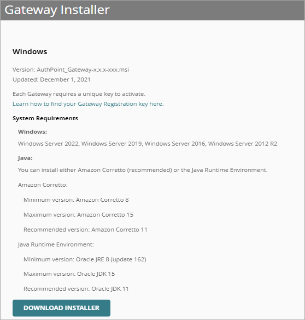 About Gateways
