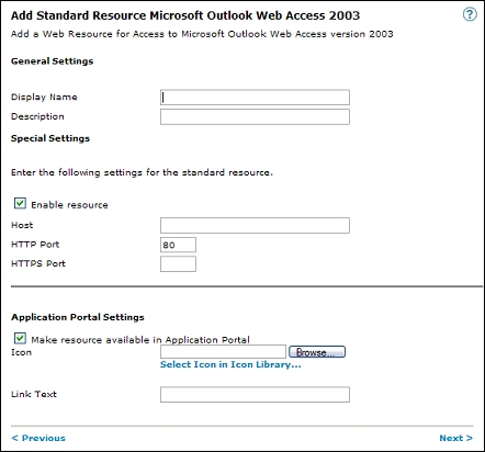 Set up SSO with Outlook Web Access (basic authentication)
