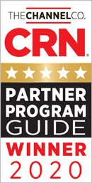 CRN Partner Program Guide Winner 2020 award badge
