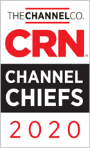 CRN Channel Chiefs 2020 Award image