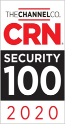 CRN Security 100 2020 Award image