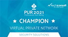 techconsult award - VPN champion 2021
