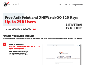 Thumbnail: AuthPoint and DNSWatchGO Activation Guide