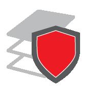 Illustrazione: Protezione dell'infrastruttura di rete