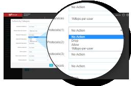 Screenshot: Application Control