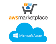 Image: Amazon Marketplace and Microsoft Azure