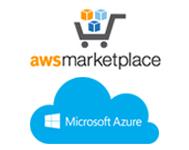 Image: Amazon Marketplace and Microsoft Azure