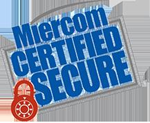 Logotipo seguro e certificado pela Miercom