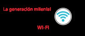 La generación milenial (de 18 a 35) consume la mayor cantidad de Wi-Fi