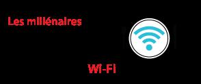 Les Millennials (18 à 35 ans) consomment la plus grande quantité de Wi-Fi