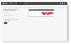 Screenshot: RapidDeploy in WatchGuard Cloud