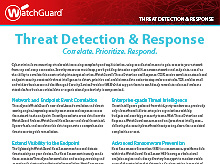 Thumbnail: Threat Detection and Response Brochure