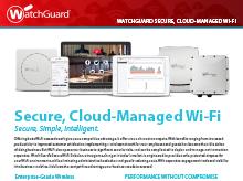 Thumbnail: Secure Cloud Wi-Fi Brochure