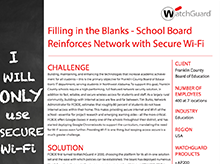 Case Study: Franklin County Board of Education