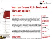 Thumbnail: Warren Evans Case Study