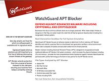 Thumbnail: APT Blocker Datasheet